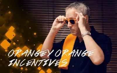 Orangey Orange Distributor Incentives
