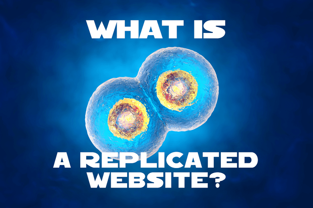 What is a Replicated Website?