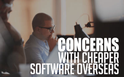 Concerns of Cheaper Software Produced Overseas
