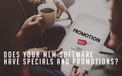Should Your MLM Software Allow Specials & Promotions?