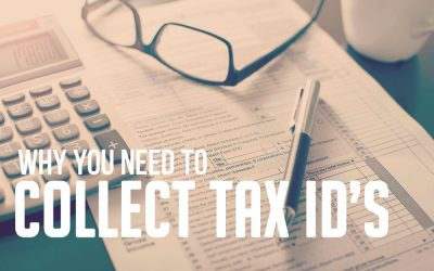 Why You Need to Collect Tax IDs from Your Distributors
