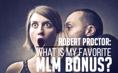 My Favorite MLM Bonus